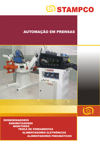 Catálogo Stampco - Automação em Prensas